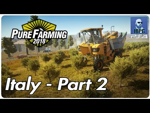 Pure Farming 2018 [PS4]: Italy - Part 2