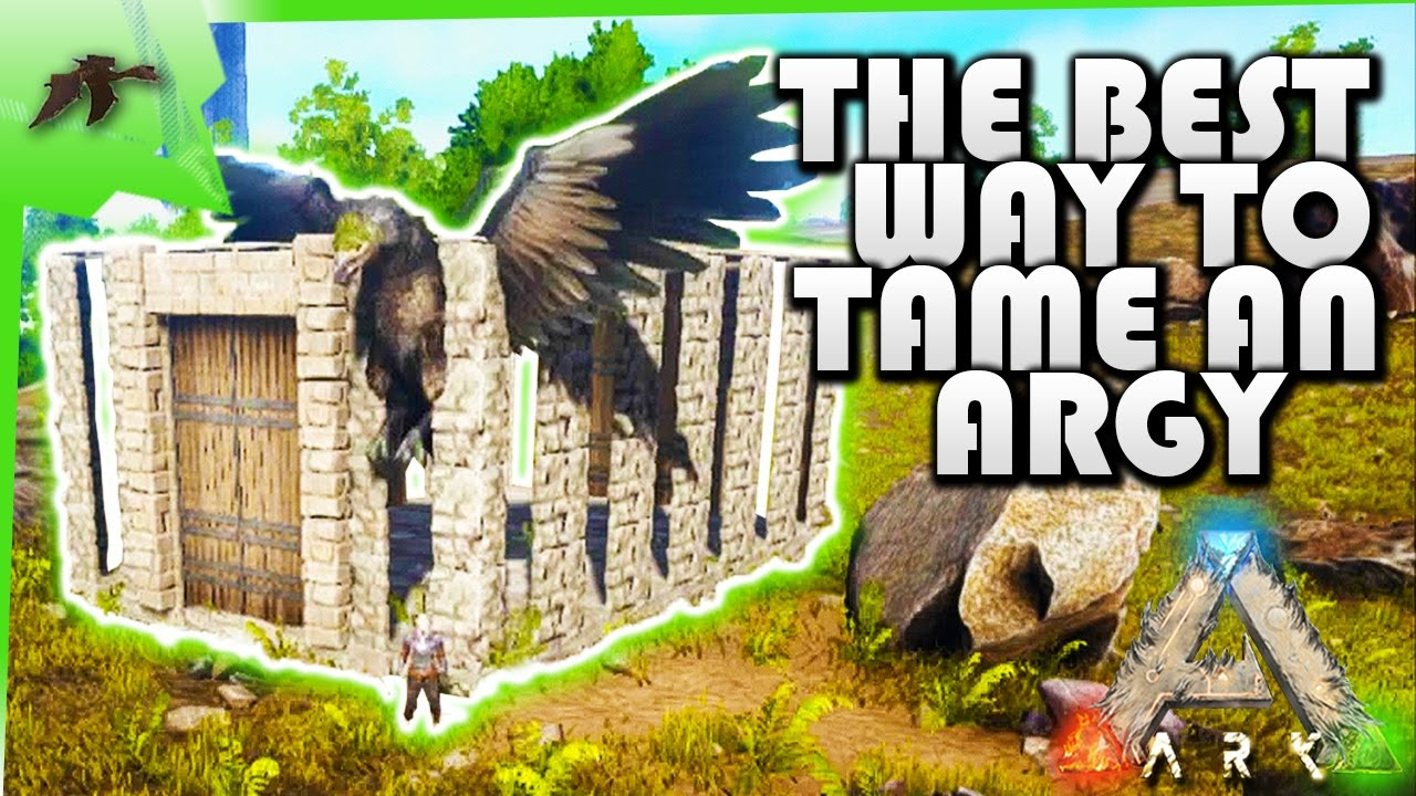 How to tame an argentavis soloeasybuild an advanced dino taming how to tame an argentavis soloeasybuild an advanced dino taming pen ark survival evolved xbox one youtube malvernweather Image collections