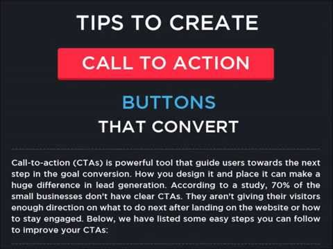Create Call to Action Buttons That Convert