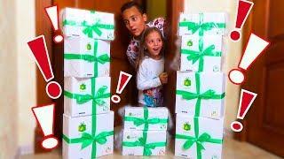Дети нашли КОРОБКИ с игрушками и сладостями от ZetBox Куклы ЛОЛ Посылка с СЮРПРЗАМИ