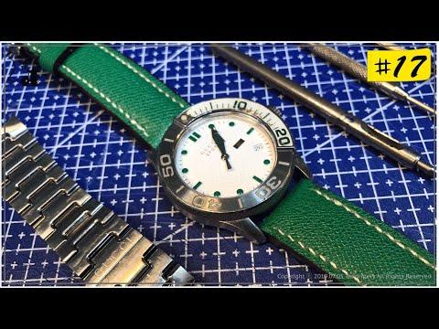 #가죽공예 독학 | #구찌 가죽 #시계줄만들기 워치 스트랩 제작 패턴공유 독학 #무료패턴 leather watch straps making (입문자 필독)