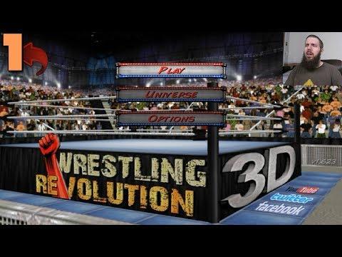 Wrestling Revolution 3D Career #1: A new SlugVenture begins
