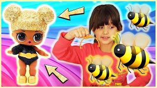 Розпакування іграшки –    лялька ЛОЛ ЛОЛ surprise Королева бджіл    – це не дитячі ігри!