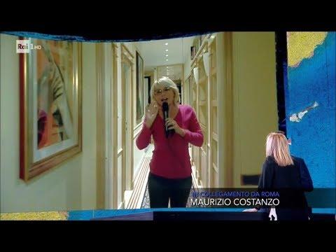 Maria De Filippi: ecco il frigo col gelato di Maurizio Costanzo - Che tempo che fa 11/11/2018