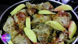Говурма Курица с айвой и гранатовый сок  Азербайджанская кухня