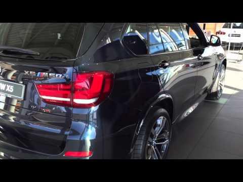 BMW X5 M50d Carbon Black