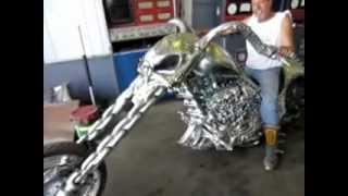 """Actual Hellcycle in person """"Ghost Rider"""""""