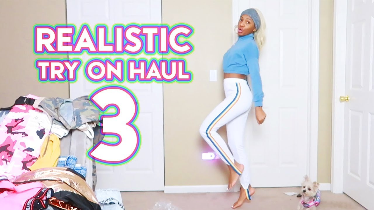 3c671ac5e7 REALISTIC Try On Haul 3  Spring Comfy Stuff (Fashion Nova