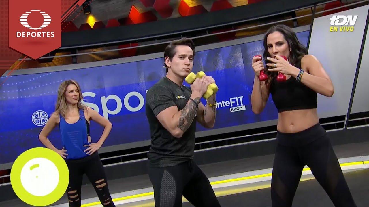 Rutina Fit Kickboxing Con Pesas Ponte Fit Televisa Deportes