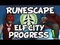 Runescape - 70 Summoning & Construction Training! | Elf City Progress  Video! [Ep.1]