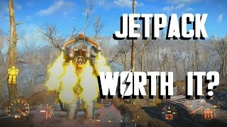 Fallout 4 - JETPACK - Is It Worth It?