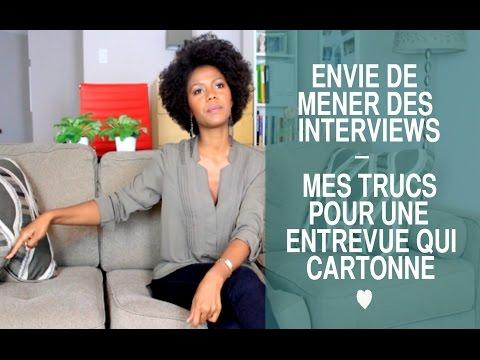Envie De Mener Des Interviews Mais Tu Bloques? Voici Comment Passer Le Cap
