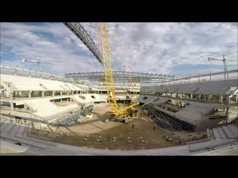 Antel Arena: building a large place for Montevideo