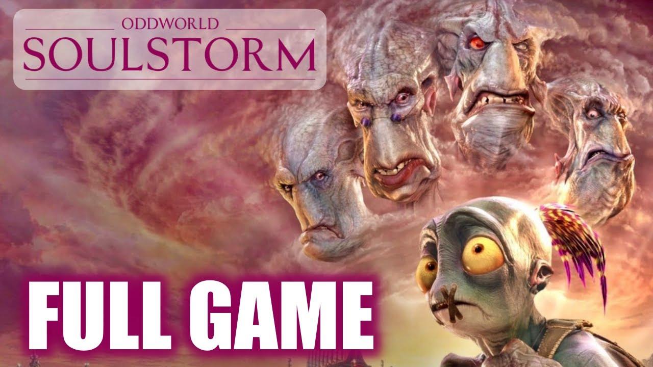 Download Oddworld Soulstorm 100% Full Game Walkthrough (All Levels, Cutscenes, Bosses)