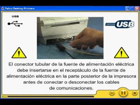 Impresora De Codigo De Barras Zebra Zm400 Gk420t Tlp284