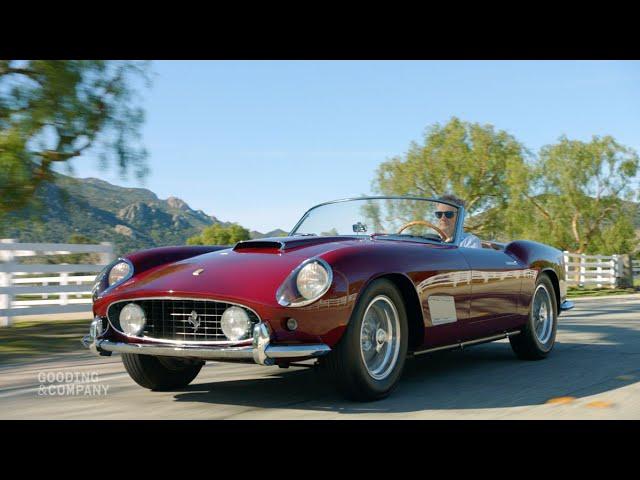 Revealed 1958 Ferrari 250 Gt Lwb California Spider Youtube