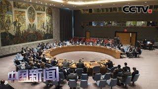 [中国新闻] 安理会举行联合国与区域组织反恐合作公开会 | CCTV中文国际