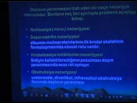 t.e.d, dos. Akif Bağırov, Böyrək...