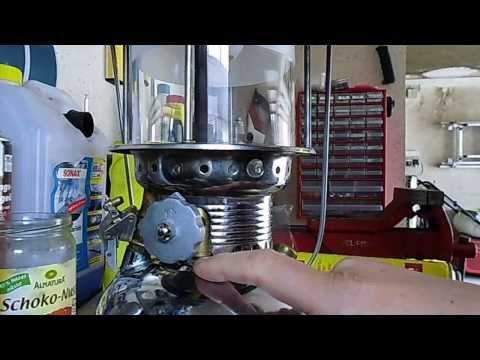 Mannesmann Petroleum-Starklichtlampe (sea anchor) tipps und tricks beim starten