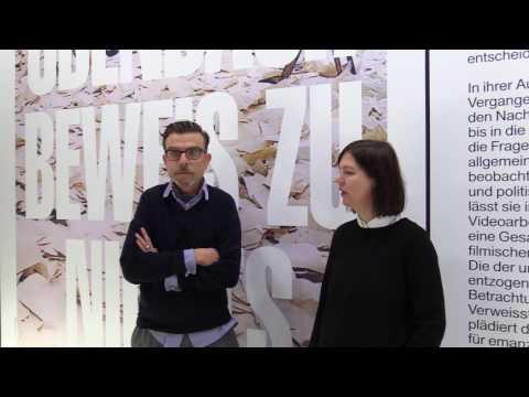 Ausstellungsrundgang: Marcel Odenbach. Beweis zu nichts