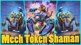 Mech Token Shaman | Rise of Shadows | Hearthstone