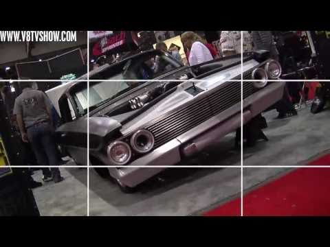 "Bryan Fuller's ""Impaler"" 1961 Chevrolet in ARP SEMA Booth Video V8TV"