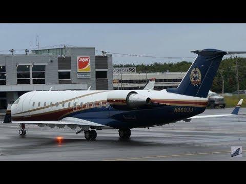 Beautiful Private CRJ [N860JJ] at Quebec City/Jean Lesage Int'l Airport (YQB)