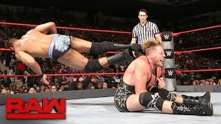 Jack Swagger vs. Jinder Mahal: Raw, Sept. 12, 2016