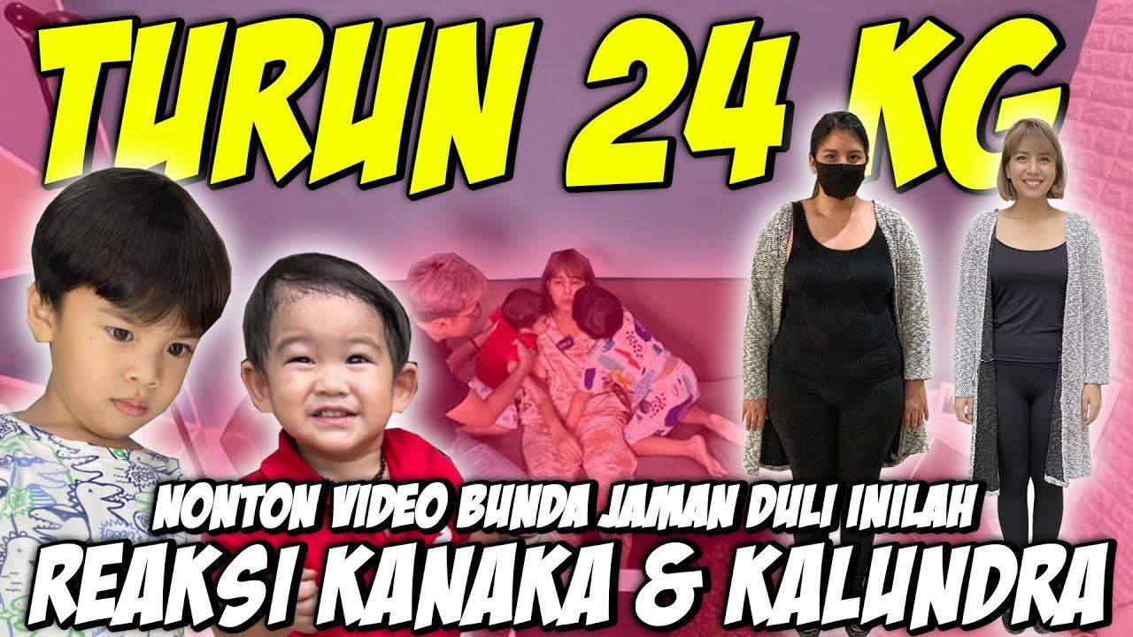 TYA ARIESTYA TURUN 24 KG, INI REAKSI KANAKA & KALUNDRA NONTON VIDEO BUNDA JAMAN DULU !
