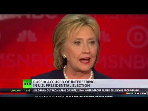 Keep calm & blame Russia: Will Clinton ever get tired of summoning Kremlin boogeyman?