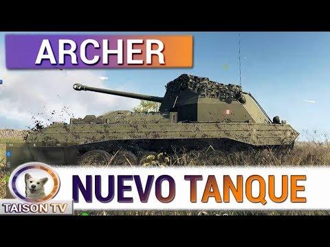 Battlefield V Probando el Nuevo Tanque Archer Valentine thumbnail