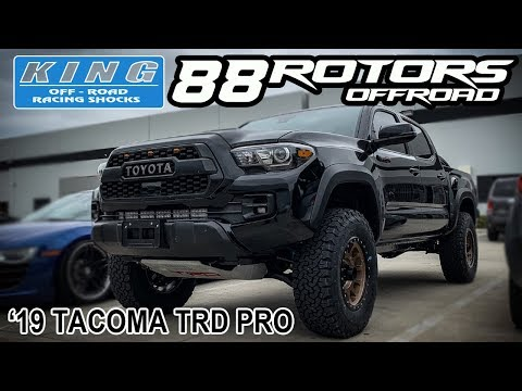 2019 Toyota Tacoma TRD Pro Kings Lift & OME Dakar Leafpack