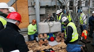Construction Workers Re-Discover Centuries Old Time Capsule
