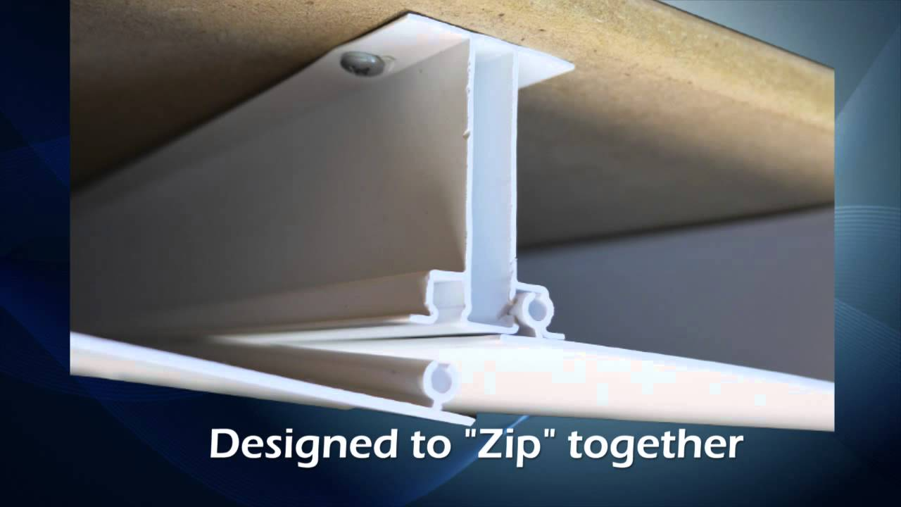 Zip Up Ceiling Introduction Video - YouTube