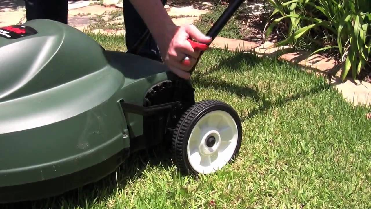 Review Black And Decker 18 Inch Corded Electric Mower