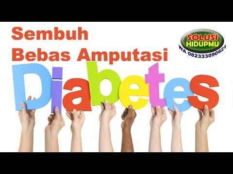 luka diabetes menularkah