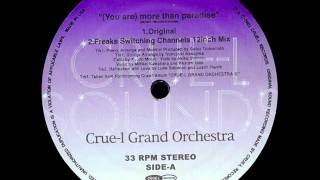 Video Crue-L Grand Orchestra - (You Are) More Than Paradise (Freaks Switching Channels 12inch Mix) download MP3, 3GP, MP4, WEBM, AVI, FLV September 2017