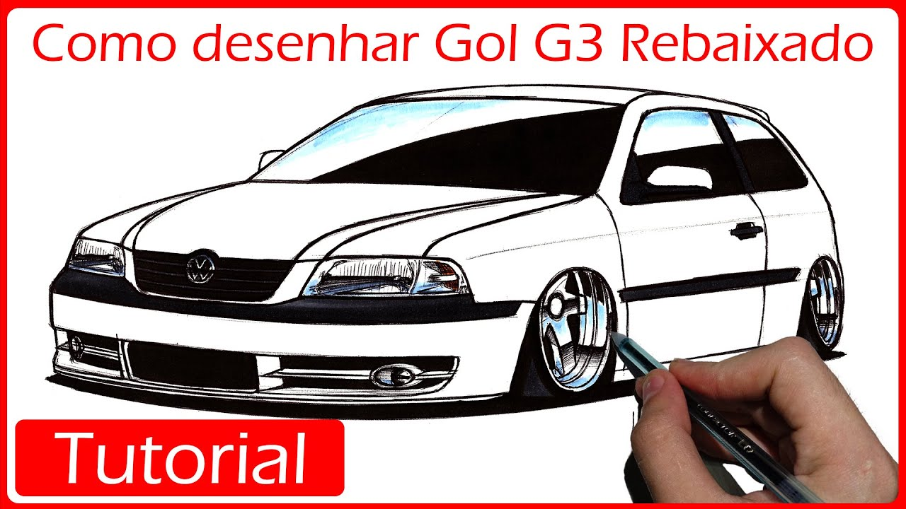 Como Desenhar Gol G3 Rebaixado Modo Mais Facil Youtube