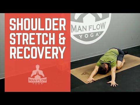 beginner's yoga for men stretches  postures for shoulder