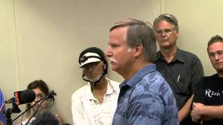 Outraged citizens demand police chief resign - 2011-08-03