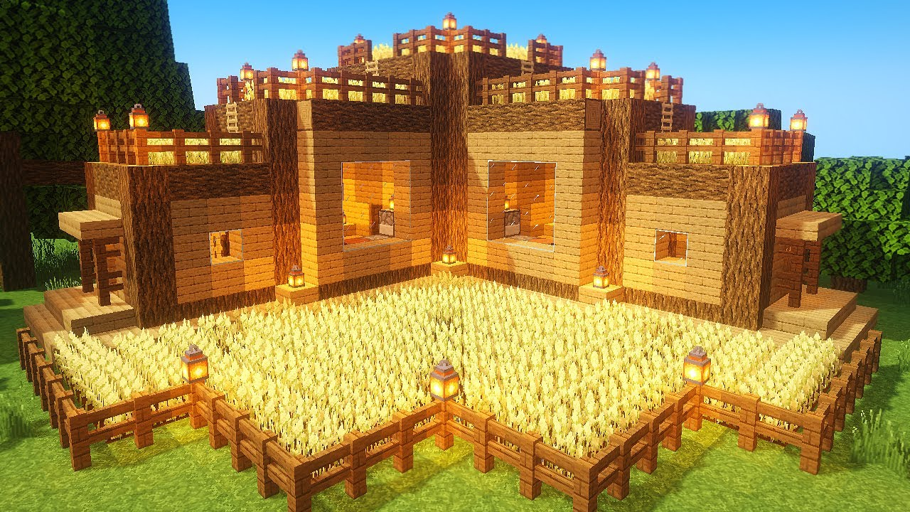 Minecraft: How to build EASY SURVIVAL BASE!