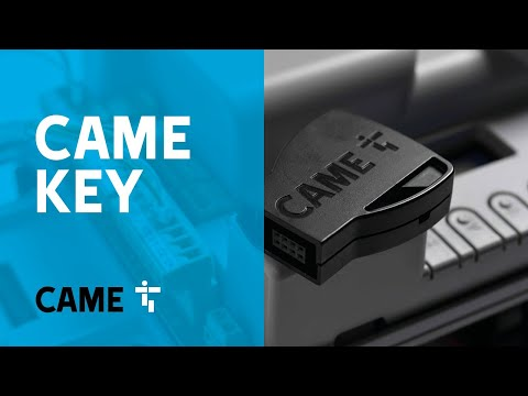 CAME KEY, the wi-fi device for easier installation of automatic gates, road barriers & garage doors