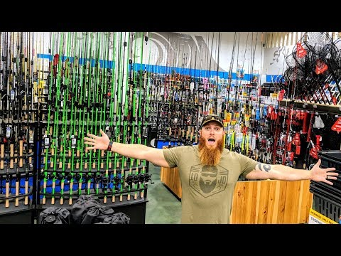 This TACKLE STORE is HUGE!!! (Fall Fishing Tips)