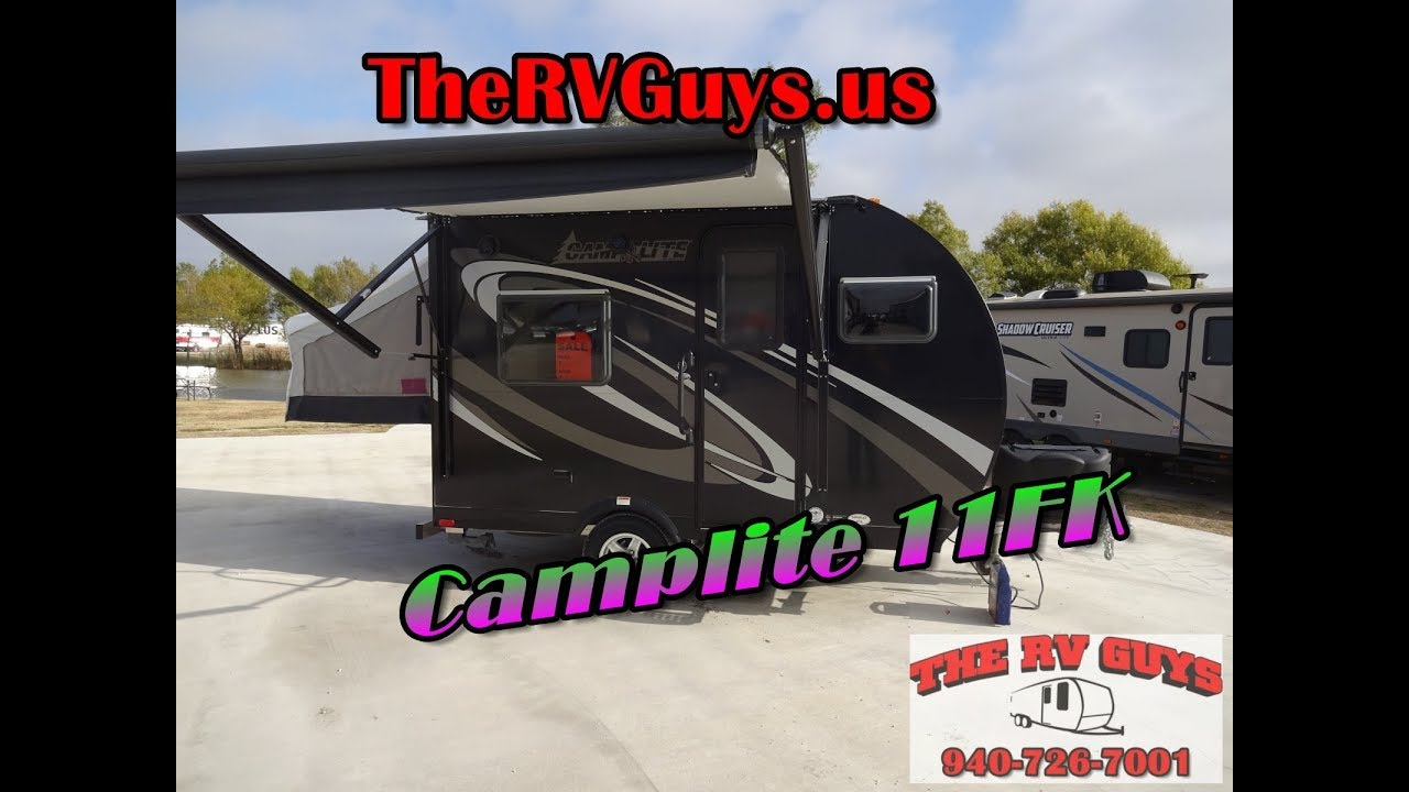 2017 Livin Lite Camp Lite 11FK 90336 - The RV Guy's - Valley
