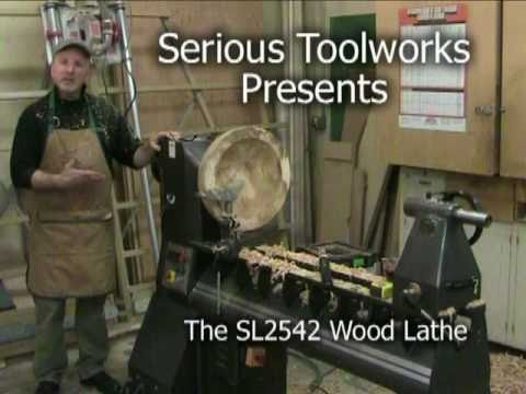 Serious Toolworks SL2542 Wood Lathe