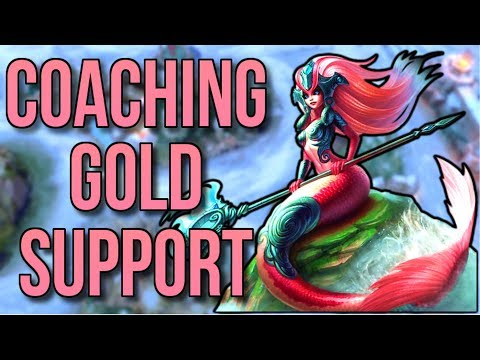 Coaching a Gold Nami I Support Spectate #1 - League of Legends