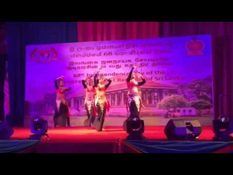 Independence Day of The Democratic Socialist Republic of Sri Lanka Group dancer