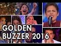 EMOTIONAL GOLDEN BUZZER MOMENTS 2016 America's Got Talent
