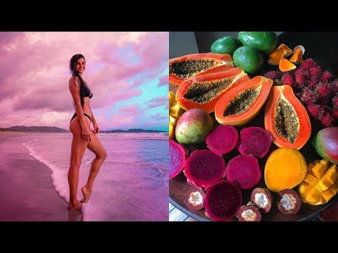 MY EVENING ROUTINE in Costa Rica | FullyRaw Vegan
