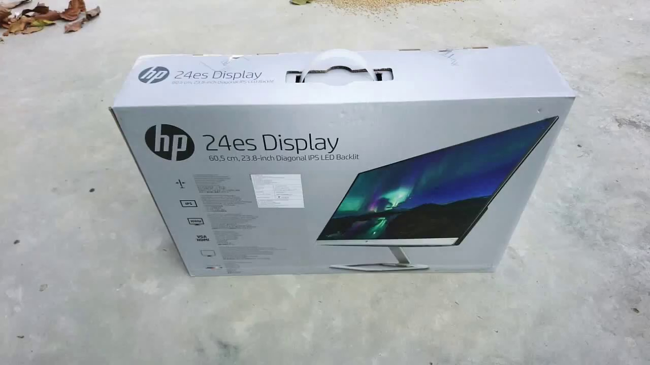 Hp Es 24 Ultra Slim Monitor Unboxing And Quality Test